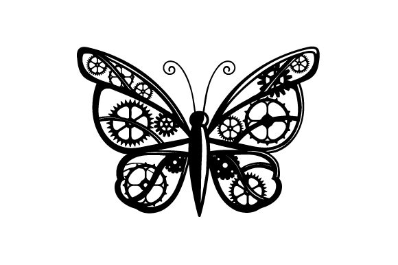 Mechanical Butterfly Craft Design By Creative Fabrica Crafts Image 2
