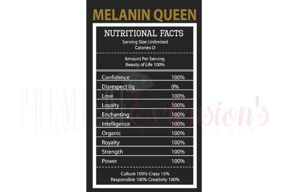 Download Free Melanin Ingredients Graphic By Premiereextensions Creative Fabrica for Cricut Explore, Silhouette and other cutting machines.