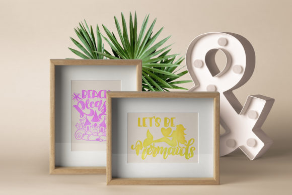 Download Free Mermaid Bundle Lettering Quotes Set Graphic By Svg Story for Cricut Explore, Silhouette and other cutting machines.