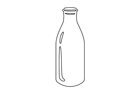 Download Free Milk Bottle Svg Cut File By Creative Fabrica Crafts Creative for Cricut Explore, Silhouette and other cutting machines.