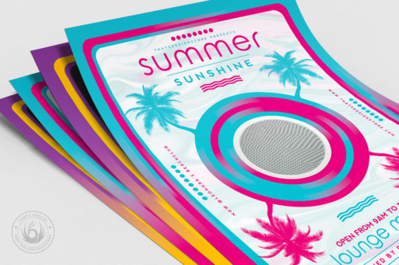 Minimal Summer Flyer Template V3 Graphic By ThatsDesignStore Image 5