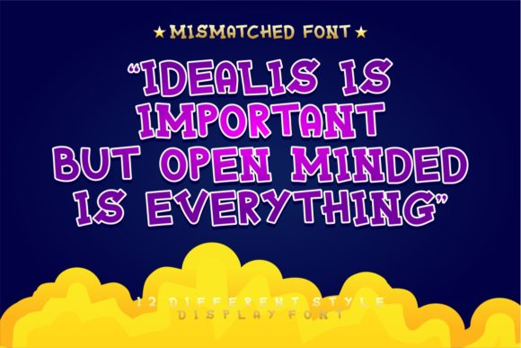 Print on Demand: Mixy Missy Display Font By putracetol - Image 15