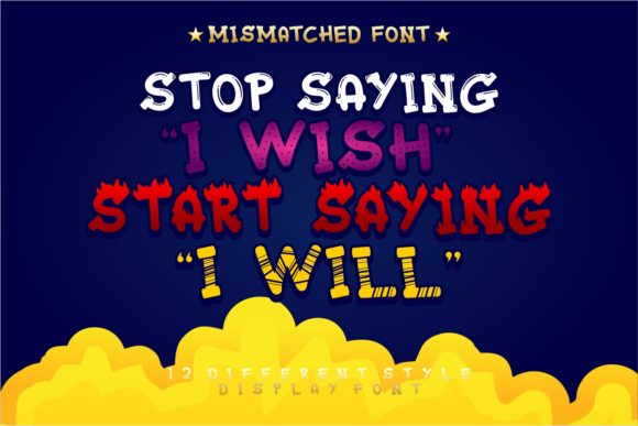Print on Demand: Mixy Missy Display Font By putracetol - Image 16