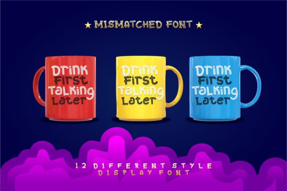 Print on Demand: Mixy Missy Display Font By putracetol - Image 8