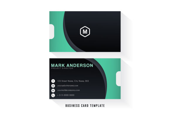 Modern Business Card Template Graphic Print Templates By dwikrisdiantoro9
