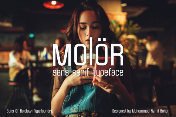 Molor Font By Sons Of Baidlowi Image 2
