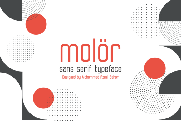 Molor Font By Sons Of Baidlowi Image 1