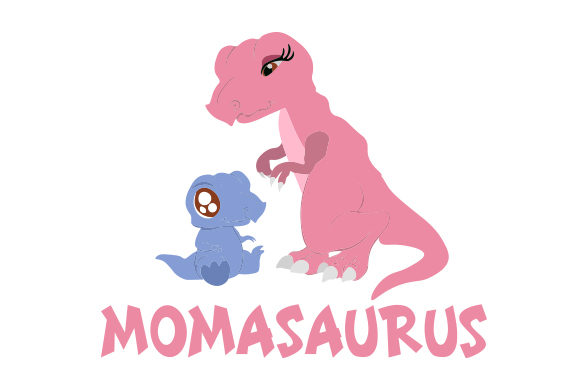 Momasaurus Dinosaurs Craft Cut File By Creative Fabrica Crafts