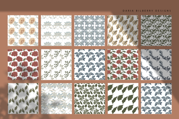 Morris Grace Collection Graphic Illustrations By BilberryCreate - Image 4