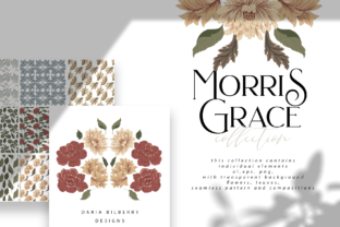 Morris Grace Collection Graphic By BilberryCreate