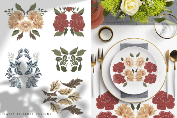 Morris Grace Collection Graphic Illustrations By BilberryCreate - Image 8