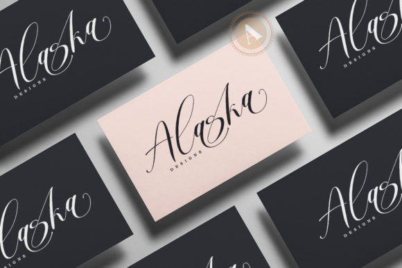 Print on Demand: Mortyni Script & Handwritten Font By Aqeela Studio - Image 3