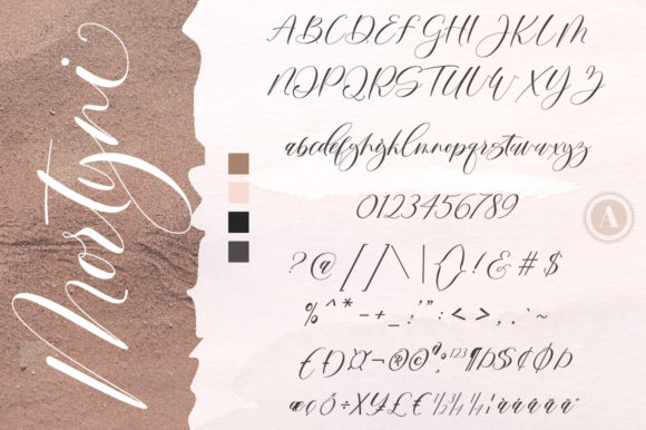 Print on Demand: Mortyni Script & Handwritten Font By Aqeela Studio - Image 7