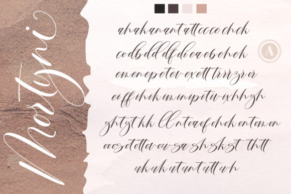 Print on Demand: Mortyni Script & Handwritten Font By Aqeela Studio - Image 8