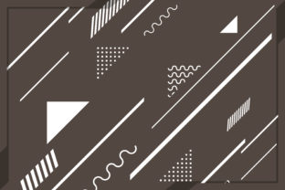 Multishape Abstract Background Brown Graphic By noory.shopper