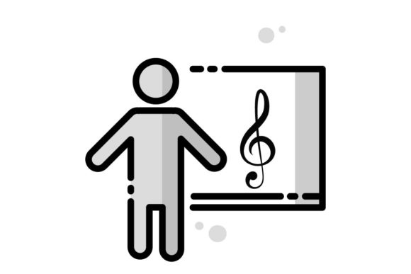 Download Free Music Lesson Icon Graphic By Home Sweet Creative Fabrica SVG Cut Files