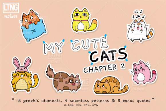 My Cute Cats Chapter 2 Graphic By luluimanda82