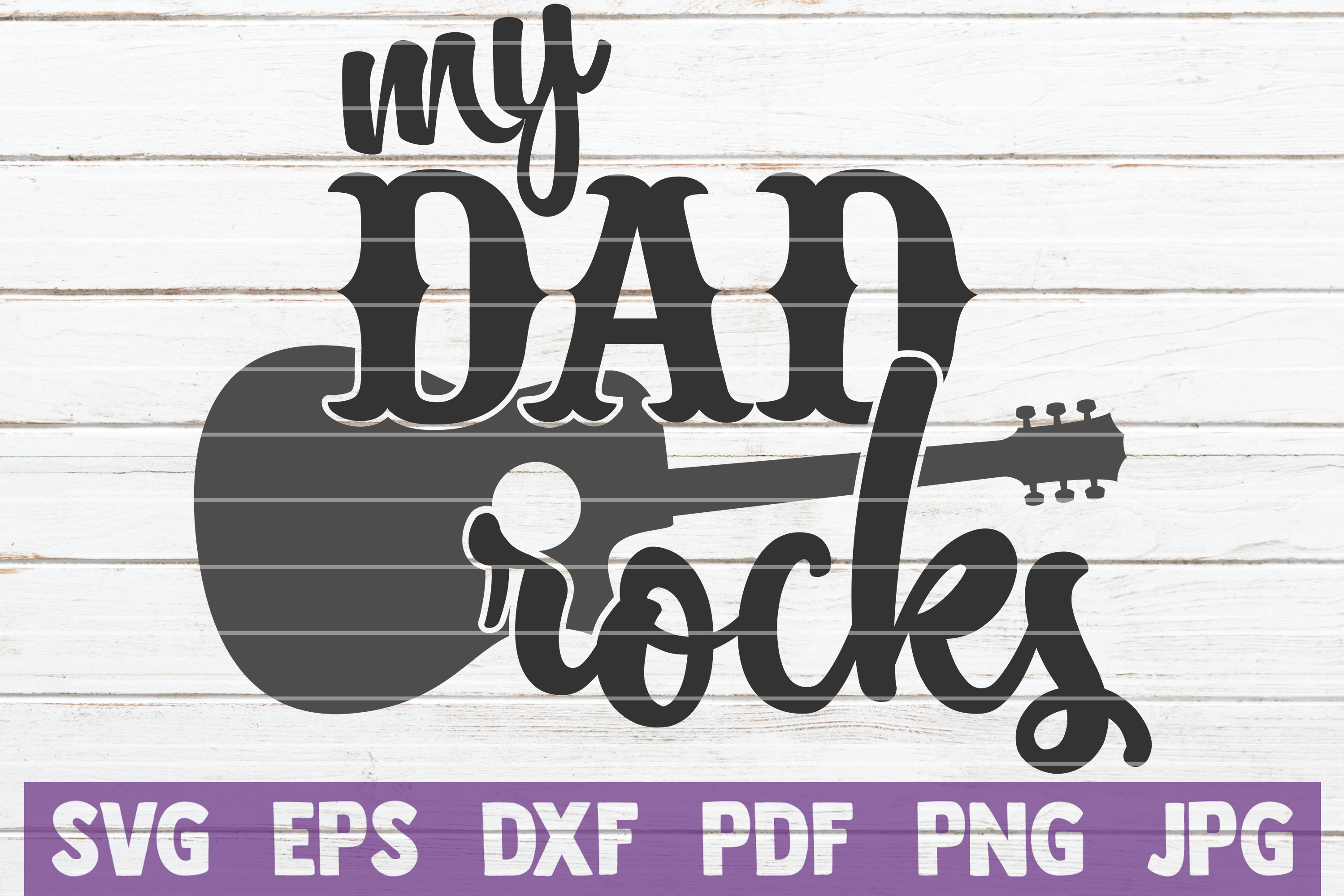 Download Free My Dad Rocks Svg Cut File Graphic By Mintymarshmallows for Cricut Explore, Silhouette and other cutting machines.