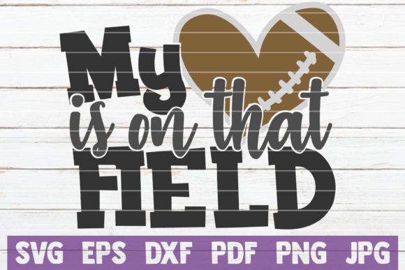 Download Free My Heart Is On That Field Svg Bundle Graphic By for Cricut Explore, Silhouette and other cutting machines.