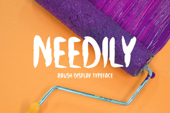 Print on Demand: Needily Display Font By Imposing Fonts