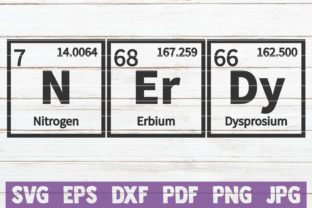 Download Free Nerdy Periodic Table Svg Cut File Graphic By Mintymarshmallows for Cricut Explore, Silhouette and other cutting machines.