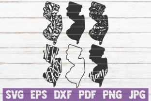 Download Free New Jersey State Svg Bundle Graphic By Mintymarshmallows for Cricut Explore, Silhouette and other cutting machines.