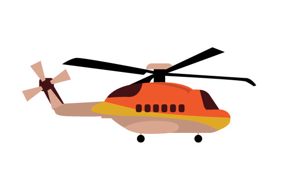 Download Free Non Military Helicopter Svg Cut File By Creative Fabrica Crafts for Cricut Explore, Silhouette and other cutting machines.