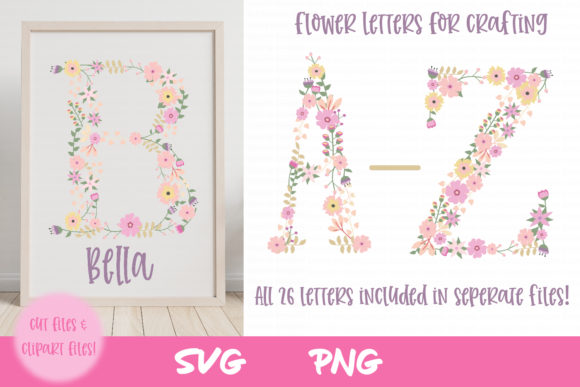 Nursery Flower Clipart Graphic Crafts By thejaemarie