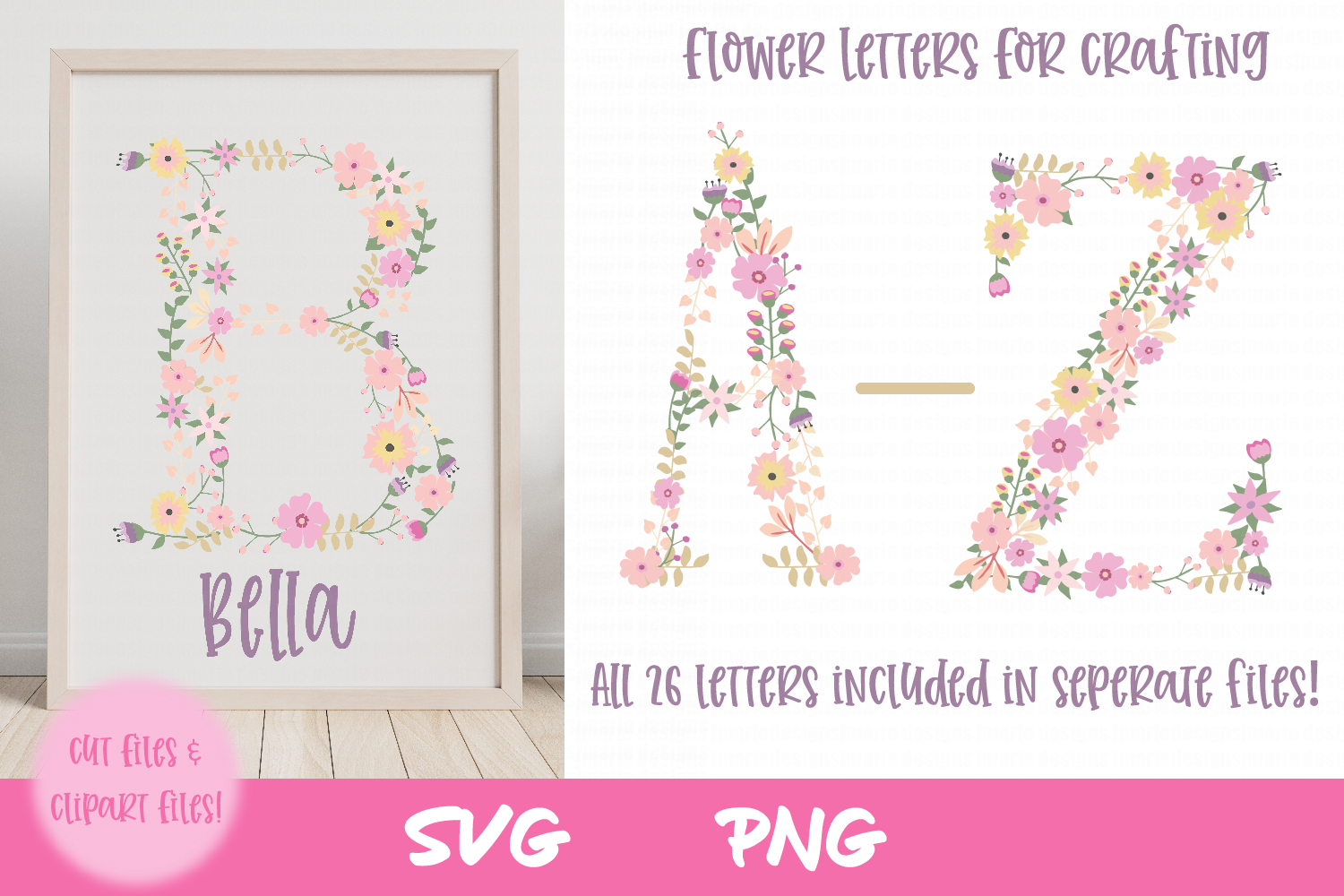 Download Free Nursery Flower Clipart Graphic By Thejaemarie Creative Fabrica for Cricut Explore, Silhouette and other cutting machines.