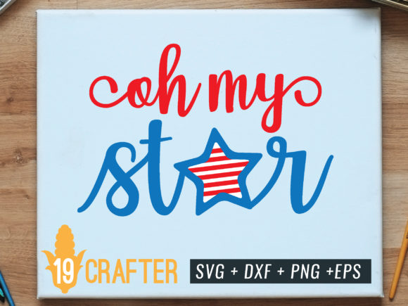 Print on Demand: Oh My Star Graphic Crafts By great19