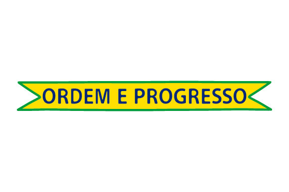 Ordem E Progresso Brazil Craft Cut File By Creative Fabrica Crafts
