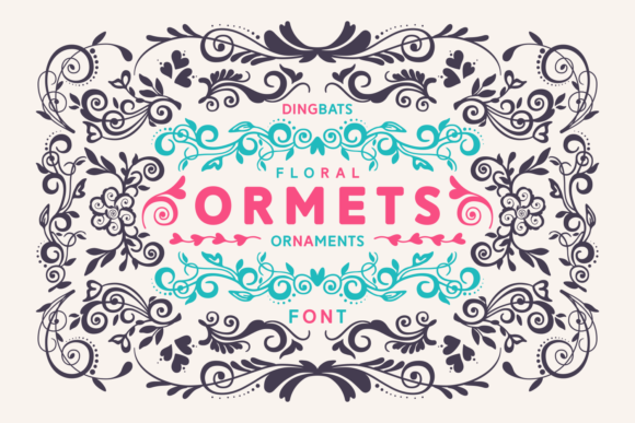 Print on Demand: Orments Dingbats Font By Situjuh