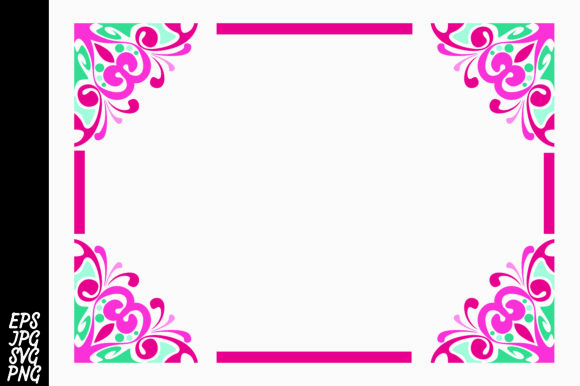 Download Free Ornament Border Svg Graphic By Arief Sapta Adjie Creative Fabrica for Cricut Explore, Silhouette and other cutting machines.