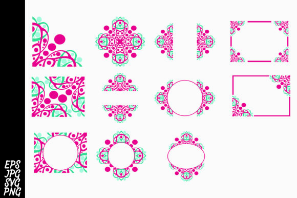 Download Free Ornament Bundle Svg Graphic By Arief Sapta Adjie Creative Fabrica for Cricut Explore, Silhouette and other cutting machines.