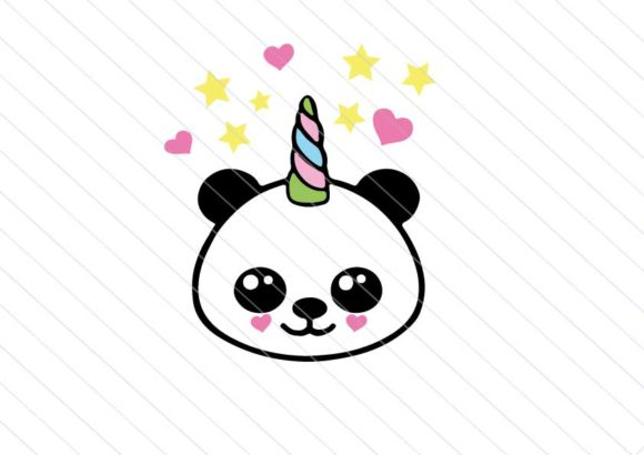 Panda Kawaii Baby Clipart Graphic Crafts By Betta Mayer