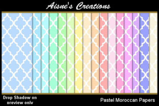 Pastel Moroccan Paper Pack Graphic By Aisne