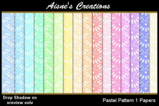 Pastel Pattern Paper Pack Graphic By Aisne