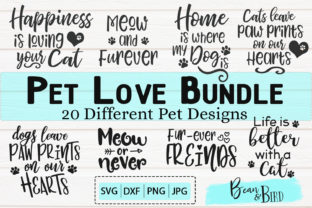 Pet Love Bundle 20 Designs Graphic By Jessica Maike