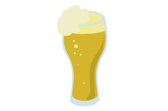 Pint of Lager Craft Design By Creative Fabrica Crafts Image 1