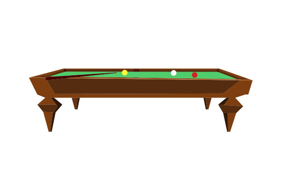 Download Free Pool Table Svg Cut File By Creative Fabrica Crafts Creative for Cricut Explore, Silhouette and other cutting machines.