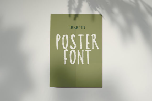 Poster Font By lunarctic Image 2