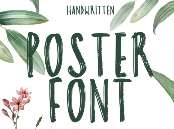 Poster Font By lunarctic Image 1