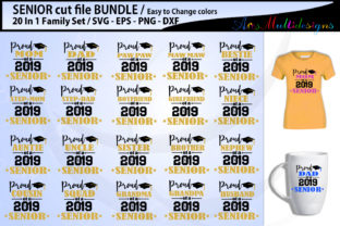 Download Free Proud Seniors Cut File Bundle Graphic By Arcs Multidesigns for Cricut Explore, Silhouette and other cutting machines.