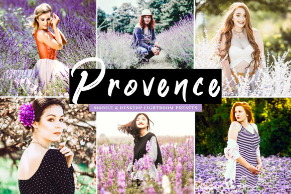 Print on Demand: Provence Lightroom Presets Graphic Actions & Presets By Creative Tacos