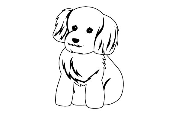 Download Free Puppy Cut Groomed Poodle Svg Cut File By Creative Fabrica Crafts for Cricut Explore, Silhouette and other cutting machines.