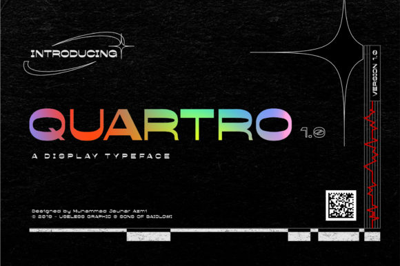 Quartro Font By Sons Of Baidlowi Image 1