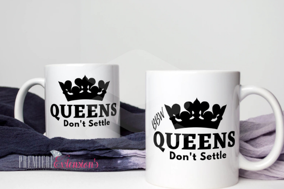 Download Free Queens Don T Settle Bundle Bbw Svg Graphic By Premiereextensions Creative Fabrica for Cricut Explore, Silhouette and other cutting machines.