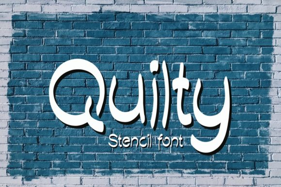 Print on Demand: Quilty Script & Handwritten Font By Eva Barabasne Olasz