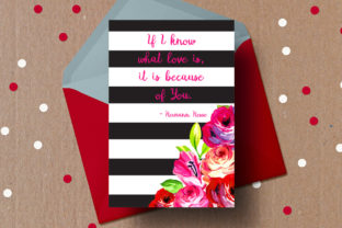 Download Free Quote Love Card Valentine S Romantic Graphic By for Cricut Explore, Silhouette and other cutting machines.