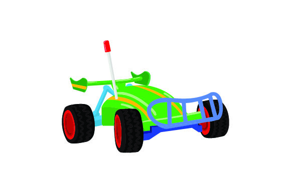 Download Free Rc Car Front View Svg Cut File By Creative Fabrica Crafts for Cricut Explore, Silhouette and other cutting machines.